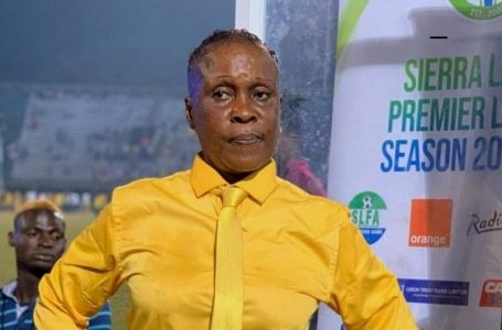 Football / Sierra Leone: Victoria Conteh first female coach in first division
