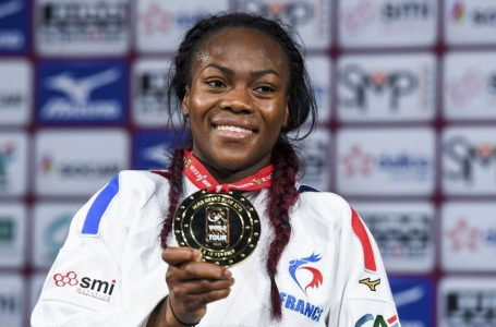 Judo / Clarisse Agbegnenou wins gold at the Grand Slam in Paris