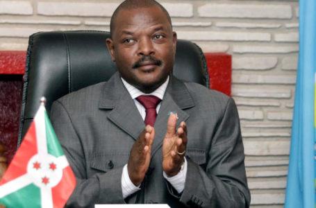 Burundi's president dies.